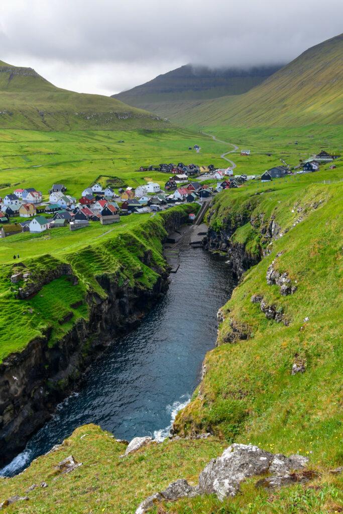 Gjogv Færøerne