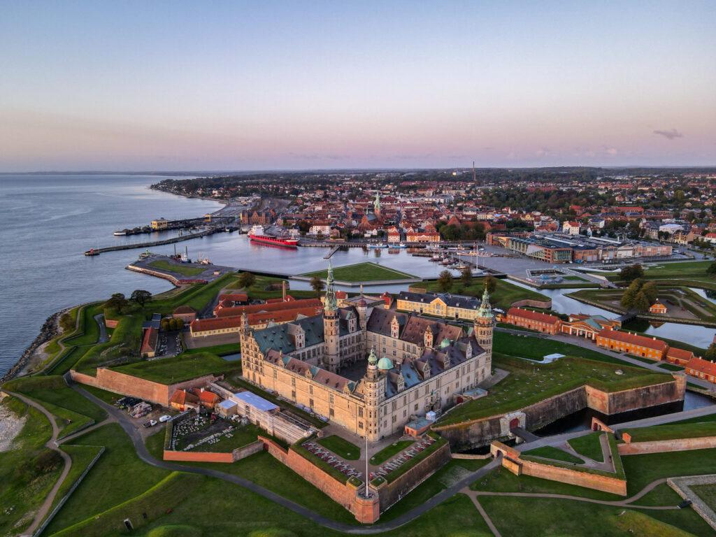 Kronborg Slot solopgang