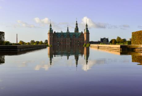 Frederiksborg Slot solopgang
